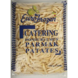 EURO FROZEN CATERİNG PATATES 9X9 2,5Gx5