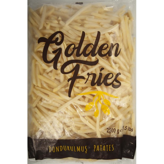 GOLDEN FRİES 7X7 PATATES 2,5 KG x 5 ad.