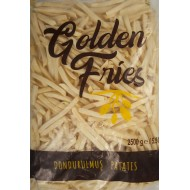 GOLDEN FRİES 9X9 PATATES 2,5 KG x 5 ad.