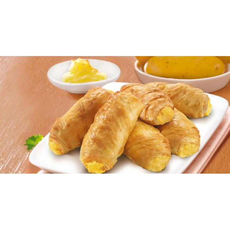 Patatesli Minik Rulo Börekler